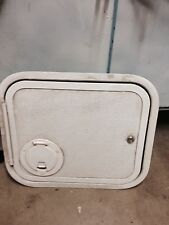 "00814 NEW RV Compartment Door - Textured,Electrical, LH, 11 3/8"" x 13"""