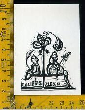 Ex Libris Originale Alexandro Radulescu c 086