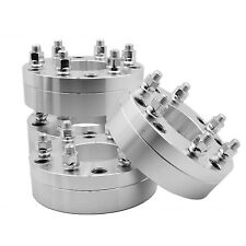 "4PC 5x5.5"" To 6x5.5"" 5 To 6 Lug 2"" Thick Wheel Spacers Adapters Ram To Silverado"