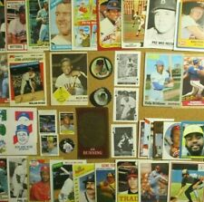 1960's/70s+ Lot w/1963 Fleer #5 Willie Mays/Rose/Schmidt/Jeter/Ryan/Bench/Reese+