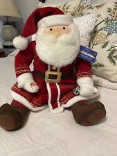"Hallmark The Polar Express Talking Santa Claus w/Bell Plush 20"" Christmas New!"