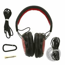 USED V-MODA Crossfade Wireless Over Ear Bluetooth Gaming Headphones in Red
