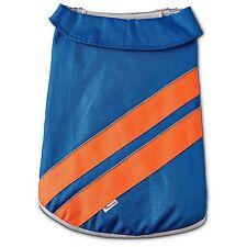 Dog Good 2 Go Sport Reflective Warm Rain Jacket Blue Sz Medium
