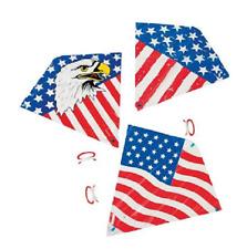 Plastic Patriotic Kite Assortment 12 Pieces Party Favors