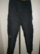 Boy's PINZEL BLACK INSULATED SNOW PANTS SIZE SMALL