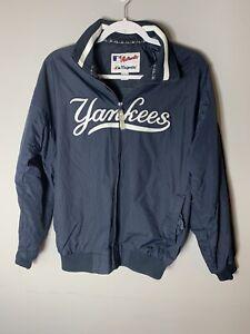 NY Yankees Majestic Youth Jacket Size Large Authentic Collection Baseball