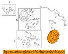 TOYOTA OEM 07-15 Tundra Rear Brake-Rotor 424310C011