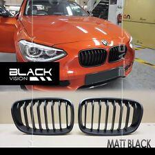 Matte Black 8 Stroke Sport Front Mesh Vent Nose Grille for BMW F20 F21 2010-2014