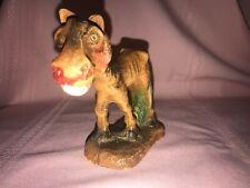 vtg Multi prods Inc hungry horse smile donkey sculpture folk art figurine Syroco