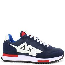 SUN68 - Sneakers blu e bianca per uomo
