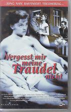 VHS Vergesst mir meine Traudel nicht DEFA 1957