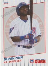 2019 South Bend Cubs Delvin Zinn RC Rookie Chicago