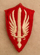 KOREAN WAR JAPANESE EMB SCARWAF PATCH ONLY USED A FEW YRS WHITEISH BACK OFF IKE