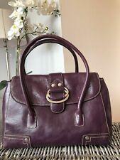 Franco Sarto purple genuine leather handbag