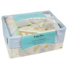 Brand New Bubba Blue Friends Forever 6 Piece Cot Set Baby Gift Boxed Basket