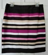NWT Sz 6P White House Black Market Pencil Skirt Stretch, Lined, Machine Wash