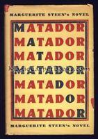 Marguerite Steen MATADOR Bull-Fighting BULLFIGHTER Granada SPAIN First Edition
