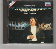 (HK416) Tchaikovsky, Israel Philharmonic/Mehta, Nutcracker/Swanlake - 1983 CD