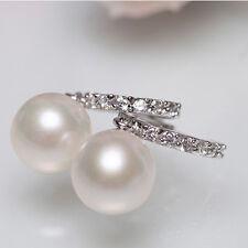 Dangle Sterling Hypoallergenic Hot 8-9mm Sale Freshwater Earrings Silver Pearl