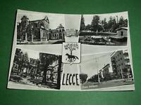 Cartolina Lecce - Vedute diverse 1950 ca.