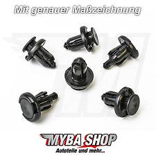 5x Stoßstangen Befestigungs clips Klips für Honda 91503-SZ3-003 #NEU#
