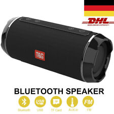 Bluetooth Lautsprecher Tragbarer Musik box Stereo Wireless Subwoofer SD AUX