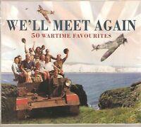 WE'LL MEET AGAIN 50 WAR TIME FAVOURITES 2 CD BOX SET
