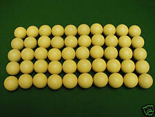 50 balles de baby foot jaunes liège 14g - balle babyfoot Qualité Bonzini