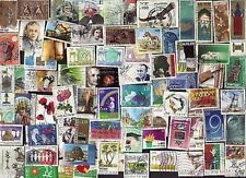 75 DIFF ISRAEL PICTORIAL & COMMEMORATIVE STAMPS