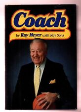 Coach by Ray Meyer  (1987, Hardcover) -Signed/inscribed