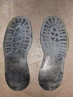 Paire de semelles extérieures Pirelli t. 43 pour rangers ou chaussures cousues