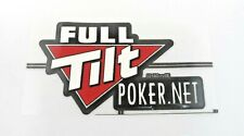 """5 Full Tilt Poker """"Iron On Badge"""" for Shirts, Pants, Sweaters, or Game Decor"""