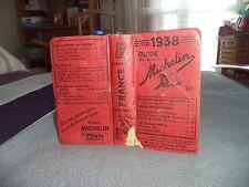 +++ A VOIR +++ Guide Michelin 1938 +++