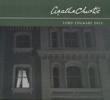 LORD EDGWARE DIES (Poirot) by Agatha Christie ~ Three-CD Audiobook