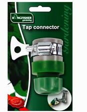 "MULTIPURPOSE TAP CONNECTOR 1/2"" GARDEN HOSE TO TAPS JUBLIEE CLIP ADAPTER"