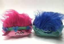 Cubd Collectibles Soft Plush Stuffed Cube Pink Blue Trolls Lot of 2
