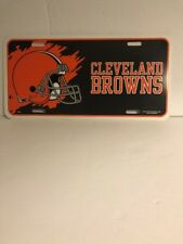 CLEVELAND BROWNS LISENCE PLATE