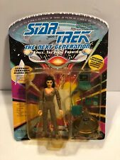 LT. DEANNA TROI STAR TREK NEXT GENERATION   ACTION FIGURE NEW SEALED