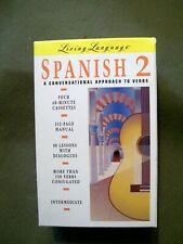 Living Language Spanish 2 Audio + Guide (4 cassettes) Intermediate