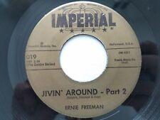 "ERNIE FREEMAN - Jivin' Around, Part 2 / Raunchy R&B JAZZ INSTRO Imperial 7"""