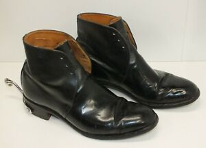 GEORGE BOOTS SIZE 11 L WITH SPURS BRITISH ARMY MILITARY ISSUE
