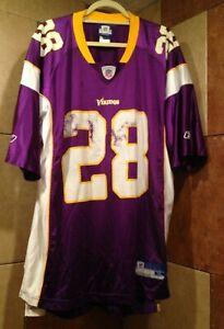 Adrian Peterson Minnesota Vikings NFL Reebok Jersey XL