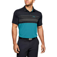 Under Armour Mens Vanish Chest Stripe Wicking Golf Polo Shirt 45% OFF RRP