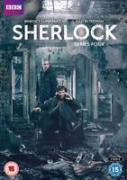 Sherlock: Series 4 DVD (2017) Benedict Cumberbatch cert 15 2 discs ***NEW***