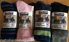 4 Pair Kirkland Ladies Merino Wool Trail Socks - MULTIPLE COLOR OPTIONS - Womens