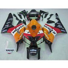Orange Repsol Fairing For Honda CBR1000RR CBR 1000 RR 2006 2007 06 07 INJECTION