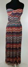 AMERICAN RAG CIE Strapless Maxi Dress Summer Beach Party Women Size Medium US
