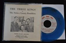 BLUE WAX OBSCURE HILLBILLY COUNTRY EP Stokes County Ramblers MKB 108 Night Train