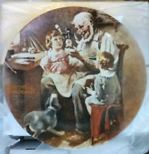 Norman Rockwell Collector Plate The Toy Maker