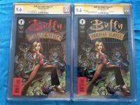 Buffy: The Vampire Slayer #1 set - Dark Horse - CGC SS 9.6 - Signed by Art Adams